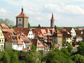 Rothenburg ob der Tauber Points of interest