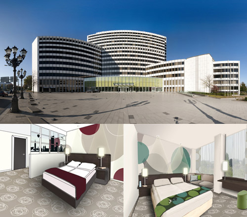 City Partner Webers Hotel im Ruhrturm Essen Germany